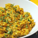 Vegan Pumpkin Risoni or Orzo Recipe